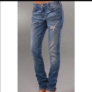 Current/Elliott Slouchy Skinny Boyfriend Jeans
